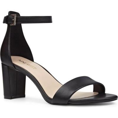 ナインウエスト NINE WEST レディース サンダル・ミュール アンクルストラップ シューズ・靴 Pruce Ankle Strap Sandal Black Leather