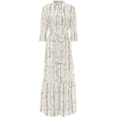 ハイジ クライン Heidi Klein レディース ワンピース ミドル丈 ワンピース・ドレス Zambia Printed Silk Midi Dress Print