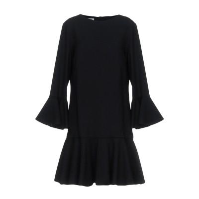 ドンダップ DONDUP ミニワンピース&ドレス ブラック 42 バージンウール 97% / ポリウレタン 3% ミニワンピース&ドレス