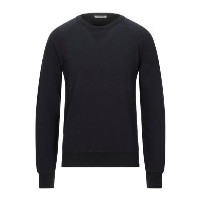 CROSSLEY スウェットシャツ ダークブルー L コットン 100% スウェットシャツ