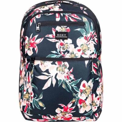 ロキシー Roxy レディース バックパック・リュック バッグ Here You Are Printed Backpack ANTHRACITE WONDER GARDEN