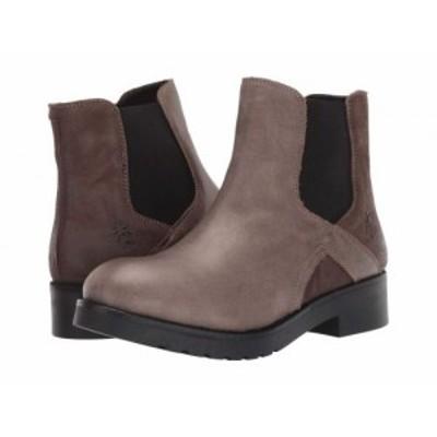 FLY LONDON フライロンドン レディース 女性用 シューズ 靴 ブーツ チェルシーブーツ アンクル BOGE488FLY Grey【送料無料】