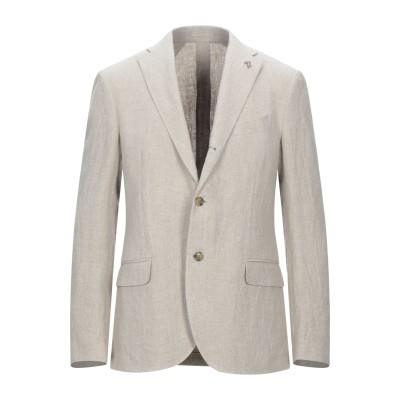 トラサルディ ジーンズ TRUSSARDI テーラードジャケット アイボリー 50 リネン 100% テーラードジャケット