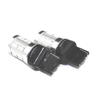 [L18] 17W T20 LED ウェッジ球 シングル 2個セット アンバー ピンチ部違い CREE/SAMSUNG製