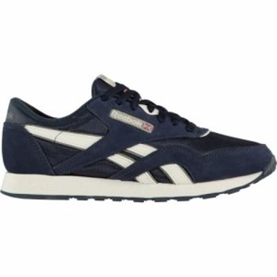 リーボック Reebok Lifestyle メンズ スニーカー シューズ・靴 Classic Nylon Trainers Navy