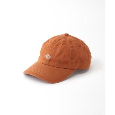 ボイスフロムベイクルーズ 【DANTON】 LINEN CLOTH CAP オレンジ フリー