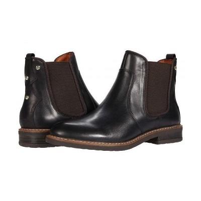 Pikolinos レディース 女性用 シューズ 靴 ブーツ チェルシーブーツ アンクル Aldaya W8J-8751C1 - Black
