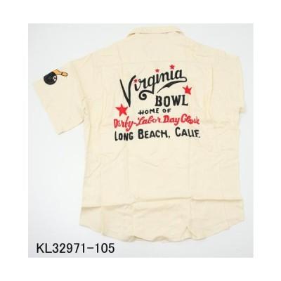 東洋エンタープライズ KL32971-105 キングルイ 「Virginia BOWL」 ボーリングシャツ