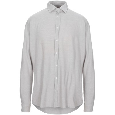 アルテア ALTEA シャツ ライトグレー 42 コットン 100% シャツ