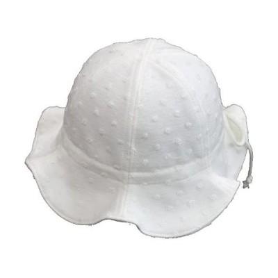 みやけの帽子 チューリップハットM 日本製 (ホワイト M)