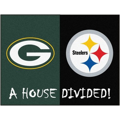 Fanmats NFL家Dividedナイロン面家Divided Rug 並行輸入品