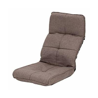 武田コーポレーション  ブラウン 46×58~85×57~68cm コンパクトになるヘッドギア座椅子 K0-OH46BR
