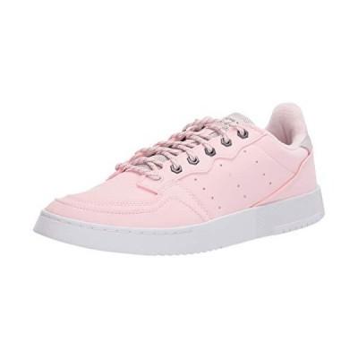 adidas Originals Women's Supercourt Sneaker, Clear Pink/Clear Pink/Clear Pink, 7 M US