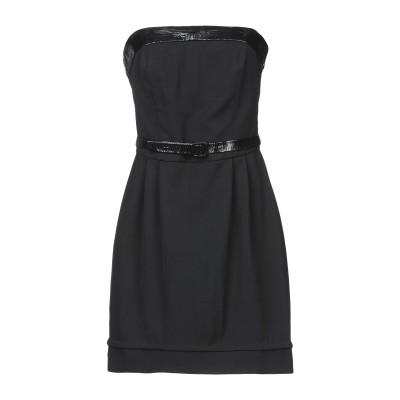トネッロ TONELLO ミニワンピース&ドレス ブラック 40 コットン 98% / ポリウレタン 2% ミニワンピース&ドレス