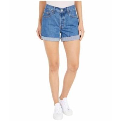 リーバイス レディース ハーフパンツ・ショーツ ボトムス Premium 501 Long Shorts Sansome Ransom