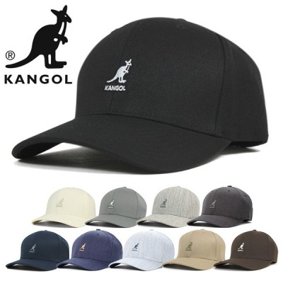 カンゴール キャップ 帽子 ウール フレックスフィット