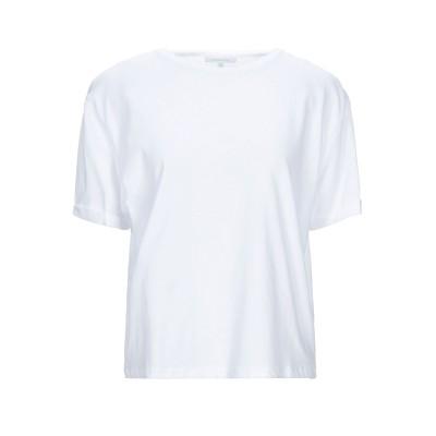 パトリツィア ペペ PATRIZIA PEPE T シャツ ホワイト 1 コットン 100% T シャツ