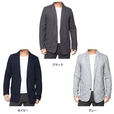 ドライMIXカノコ2釦テーラードジャケット