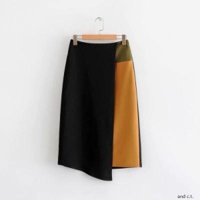 ブラウンタイトスカート  ひざ丈 Iライン 大人可愛い きれいめ エレガント 秋冬 お出かけデートレトロ