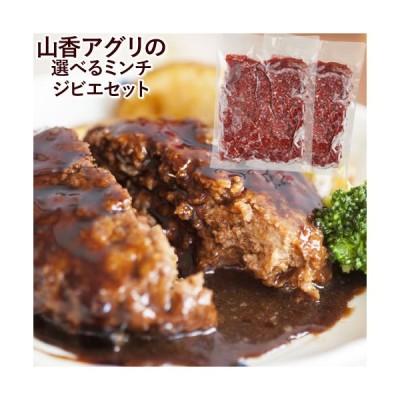 大分県産 選べるジビエ ミンチセット(猪肉ひき肉&鹿肉ひき肉) 500g×2 山香アグリ【送料無料】