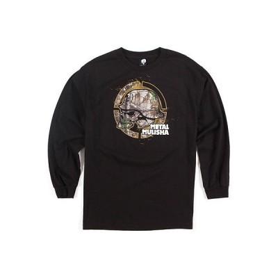 メタルマリーシャ Tシャツ シャツ トップス 半袖 長袖 Metal Mulisha - Metal Mulisha 長袖 Tシャツ - Footプリント