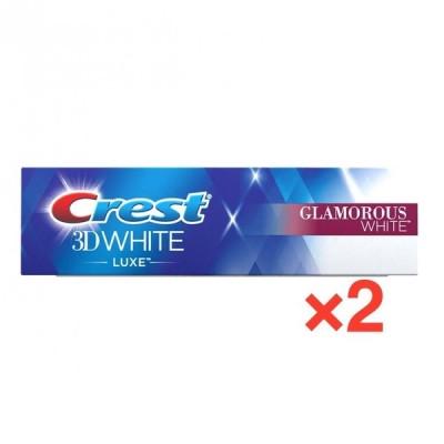 クレスト 3D ホワイト グラマラス ホワイト 歯磨き粉 116g×2 Crest 3D White Luxe Glamorous White Toothpaste