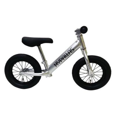 北海道・四国・九州・沖縄・離島配送不可 代引不可 ペダルなし自転車 スーパーハイエンダー 軽量アルミフレーム エアータイヤ シルバー MYPALLAS MC-SH SL