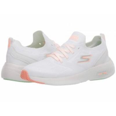 SKECHERS スケッチャーズ レディース 女性用 シューズ 靴 スニーカー 運動靴 Go Run Smart White/Orange【送料無料】
