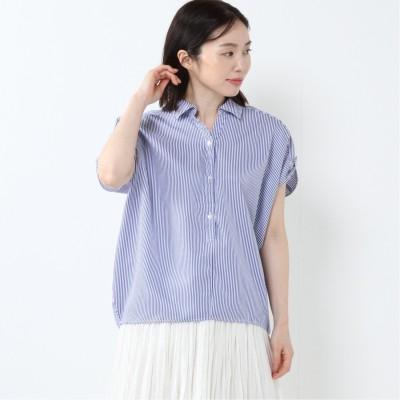 多色展開◎ドルマンプルオーバーシャツ【M―4L】(エスタコット/ESTACOT)