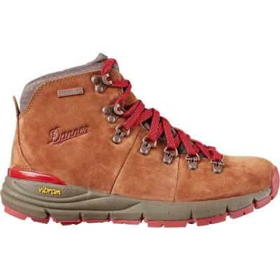 ダナー ブーツ&レインブーツ シューズ レディース Danner Women's Mountain 600 4.5'' Suede Waterproof Hiking Boots Brown/Red
