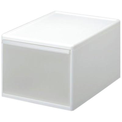 吉川国工業所 組み合わせて使える収納ケース ワイドL (ホワイト)  MOS-06ホワイト 【返品種別A】