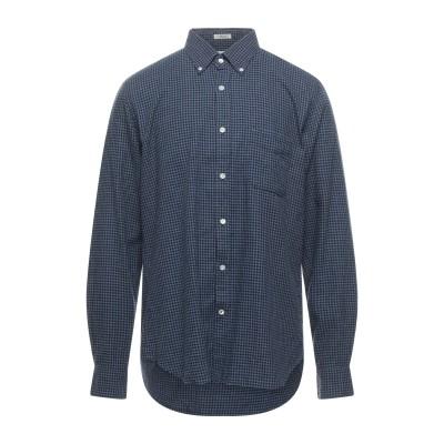 HARTFORD シャツ ブルー XL コットン 100% シャツ