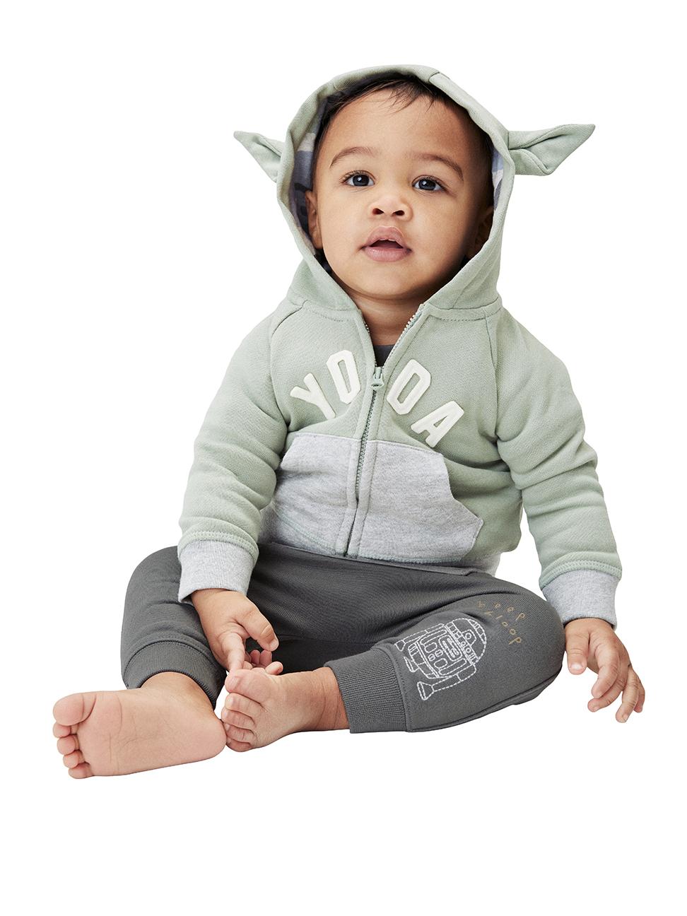 嬰兒 Gap x Star Wars星際大戰系列刺繡長褲
