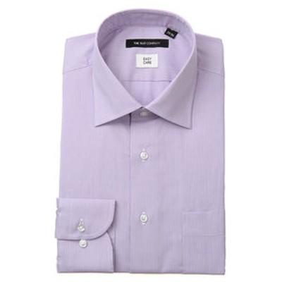 ワイドカラードレスシャツ ヘアラインストライプ 〔EC・BASIC〕