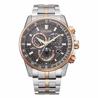 Men's Citizen Eco-Drive PCAT Chronograph Two-Tone Watch CB5886-58H