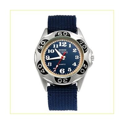 【新品・未使用品】Lancardo 腕時計 メンズ 防水 カジュアル ファッション 新学期 ストップウォッチ ナイロンベ