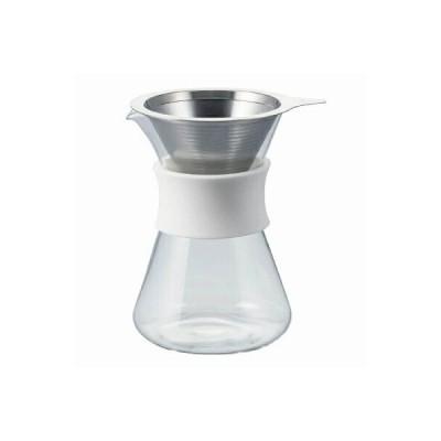 HARIO ハリオ Simply HARIO GLASS COFFEE MAKER グラスコーヒーメーカー S-GCM-40-W ドリップデカンタ
