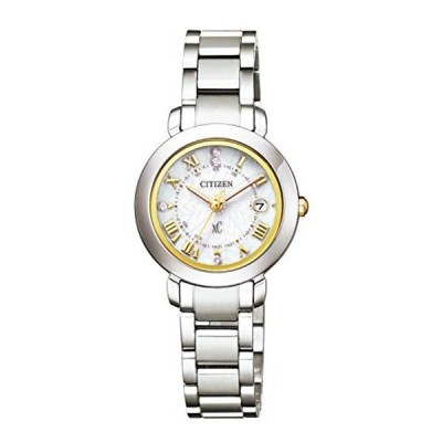 [シチズン] 腕時計 クロスシー エコ・ドライブ電波時計 Titania Happy Flight ペア限定モデル 限定モデル2,000本