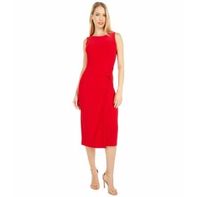 ラルフローレン ワンピース トップス レディース Kava Sleeveless Day Dress Orient Red