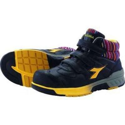 ディアドラ 安全作業靴 ステラジェイ 黒/黄 25.0cm(品番:SJ25250)『1388401』