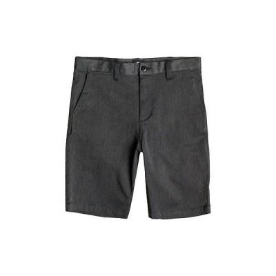 DC シューズ メンズ Worker Heather ストレート Fit Shorts - ブラック (KRPH)