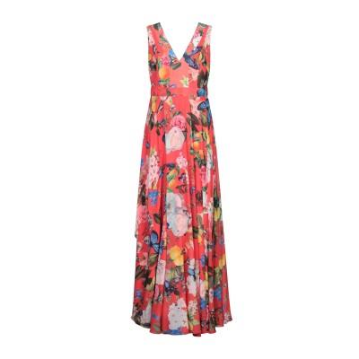 TWINS BEACH COUTURE ロングワンピース&ドレス レッド 10 ポリエステル 100% ロングワンピース&ドレス