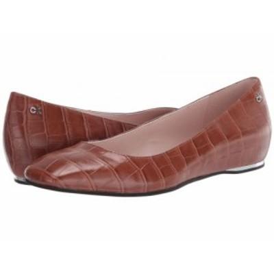 Calvin Klein カルバンクライン レディース 女性用 シューズ 靴 フラット Heidy Cuoio Croc Embossed【送料無料】