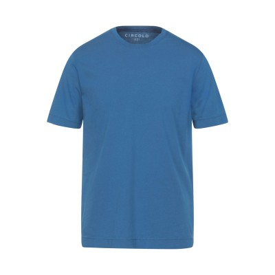 チルコロ 1901 CIRCOLO 1901 T シャツ ブルー M コットン 100% T シャツ