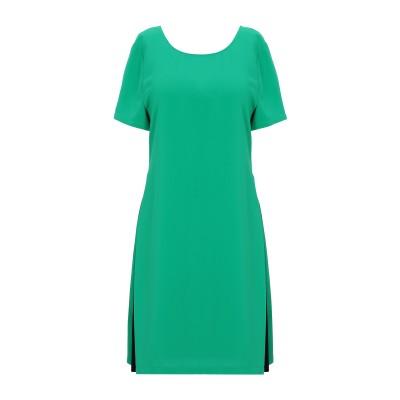 RUE•8ISQUIT ミニワンピース&ドレス グリーン 40 ポリエステル 100% ミニワンピース&ドレス