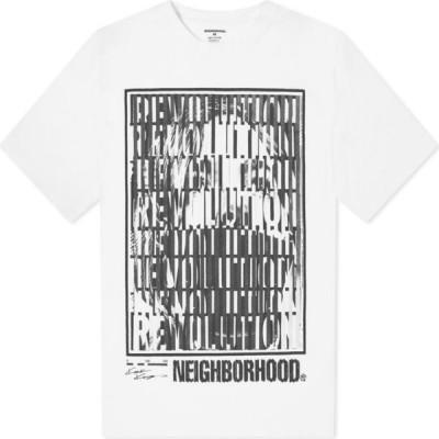 ネイバーフッド Neighborhood メンズ Tシャツ トップス x Kosuke Kawamura 1 Tee White