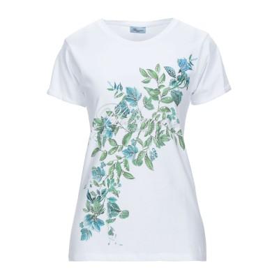 ブルマリン BLUMARINE T シャツ ホワイト S コットン 100% T シャツ
