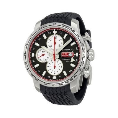 腕時計 ショパール Chopard Mille Miglia 2013 リミテッド エディション ブラック ダイヤル ブラック ラバー メンズ 腕時計