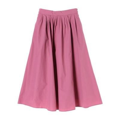 フロントタックギャザースカート1