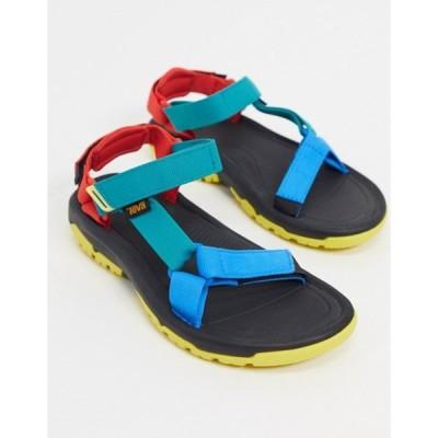 テバ レディース サンダル シューズ Teva Hurricane XL2 sandals in 90s color block